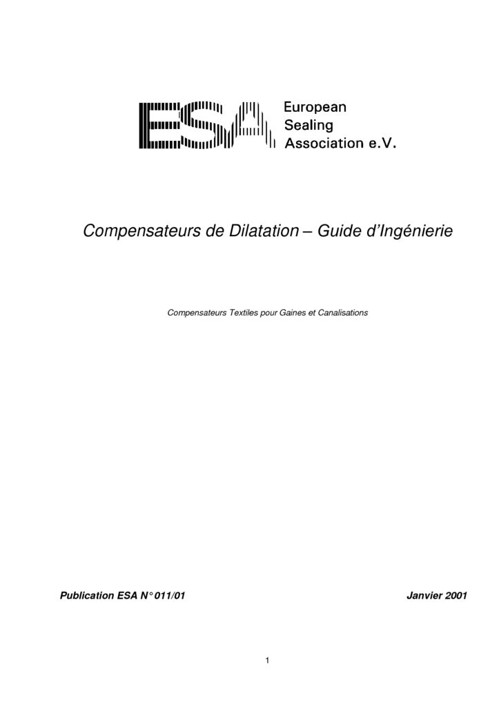thumbnail of ESA_Expansion_Joints_-_Engineering_Guide_-_Francais-1